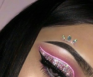 eyebrows, lashes, and mac image