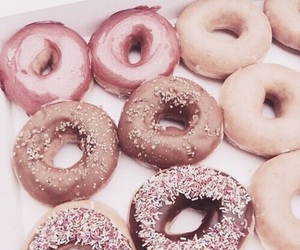 blush, donuts, and yum image