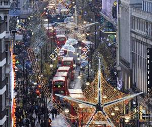 christmas, london, and light image