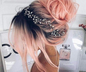 colorful, cutie, and hairs image
