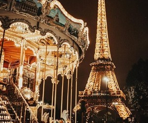 adventure, carousel, and parís image