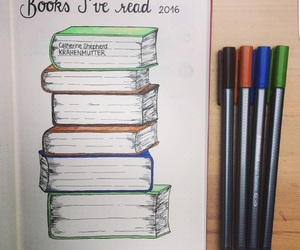 bullet journal and book image