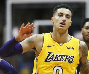 Basketball, lakers, and NBA image