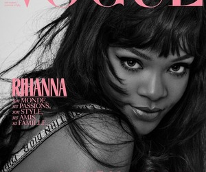 rihanna and vogue image