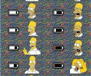 wallpapers, homero simpson, and fondos para iphone image