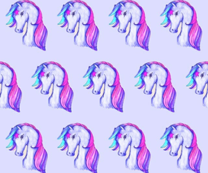 background, pink, and unicorn image