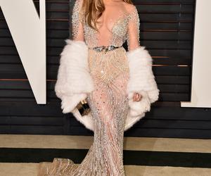 dress and Jennifer Lopez image
