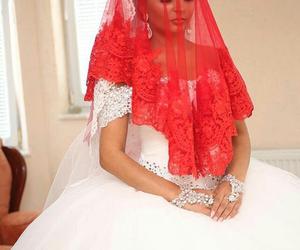 bride, dress, and turkey image