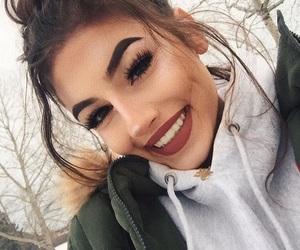 girl, hair, and make image