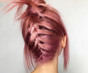 alternative, braid, and hairstyle image
