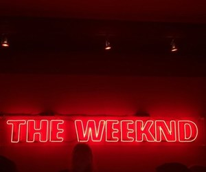red, the weeknd, and xo image