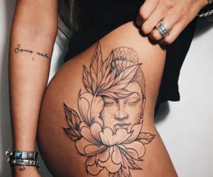 art, tattoo, and pretty image