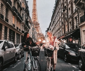 friendship, paris, and friends image