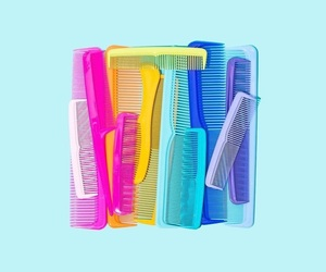 colorful and combs image