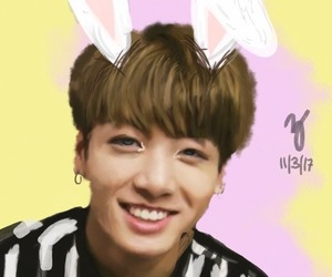 art, cute bunny, and kpop image