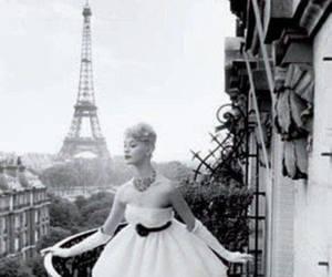 paris, dress, and vintage image
