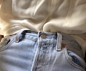 style, tumblr, and jeans image