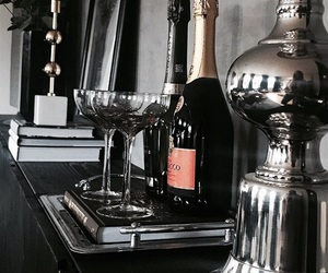 champagne and interior image