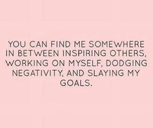 quotes, goals, and empowerment image