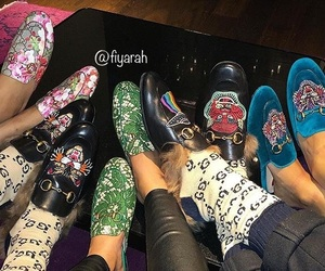 clothes, footwear, and gucci image