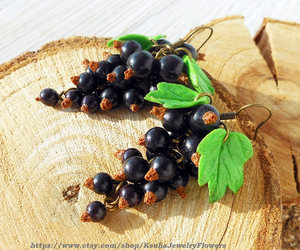 etsy, summer berries, and natural jewelry image