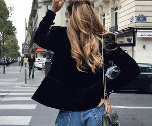 style, blonde, and fashion image