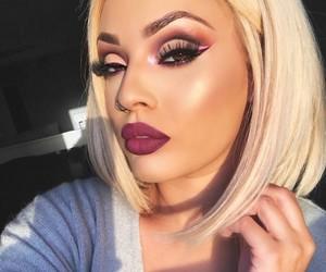 eye shadow, wigs, and ig image