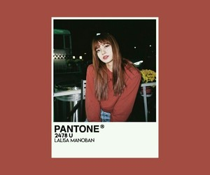aesthetic, lisa, and pantone image