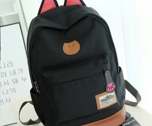 backpack, funny, and lovely image