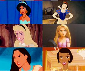 disney, princess, and angry image