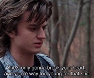 stranger things, quotes, and steve harrington image