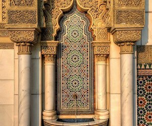 islam, architecture, and art image
