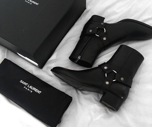 shoes and saint laurent image