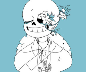 sans, undertale, and taoyuan-tale. image