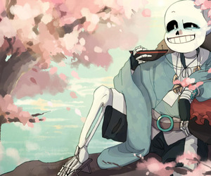 sans, undertale, and taoyuan-tale image