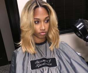 blond, colored, and dyed hair image