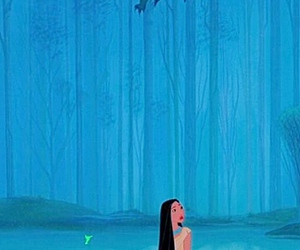 disney, movie, and pocahontas image