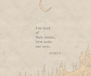 quotes, life, and moon image