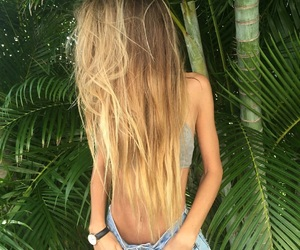 hair, girl, and inspiration image
