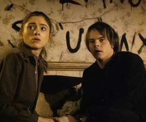 charlie heaton, stranger things, and couple image