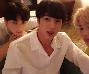 god, bts, and seokjin image