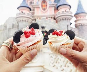 disney, cupcake, and food image