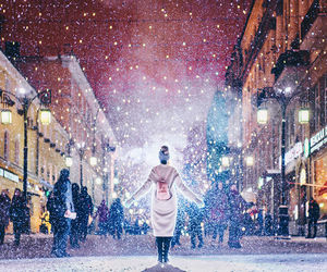 magic, moscow, and winter image