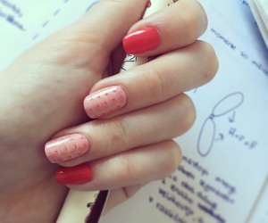 nails, newnail, and orange image
