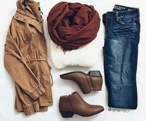 clothing, scarves, and fall looks image