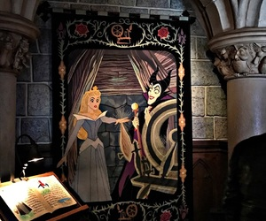aurora, witch, and disneylandparis image