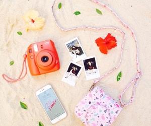 aesthetics, iphone, and polaroid image