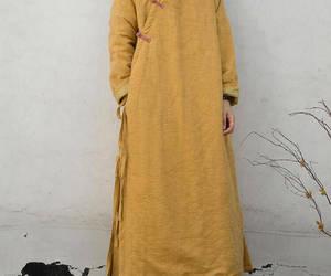 long sleeves, long coat, and women coat image
