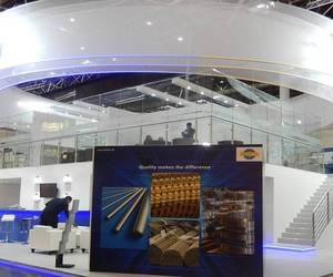 exhibition stall design and stand design agency image