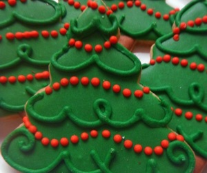 christmas, christmas tree, and Cookies image